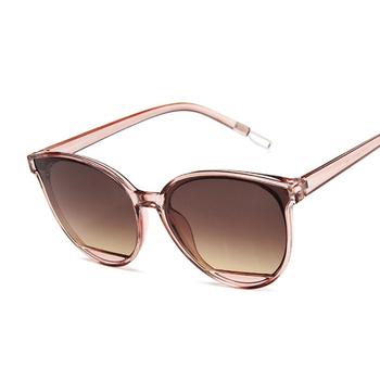 New Arrival 2020 modne okulary przeciwsłoneczne damskie Vintage metalowe lustrzane klasyczny Vintage okulary przeciwsłoneczne damskie Oculos De Sol Feminino UV400 tanie i dobre opinie AKLFHNC WOMEN Cat eye Dla dorosłych Z tworzywa sztucznego Lustro Antyrefleksyjną 46mm Akrylowe 64mm