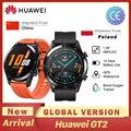 Huawei GT2 GT2E Smart Uhr Globale Version 46mm SmartWatch GPS Wasserdichte Bluetooth Für Android iOS Herz Rate ساعة ذكية