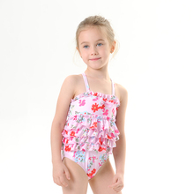 New Toddler Girl Swimsuit Luxury Two Piece Children #8217 s Swimwear Girls Summer Swimwear Kids Kawaii Swimwear Biquini cheap Polyester Plaid Fits smaller than usual Please check this store s sizing info 82019