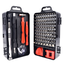 110 in 1CRV Mobile Phone Repair Tool Screwdriver Batch Multi function Screwdriver Set Screw Driver Bits  Impact Driver T4027
