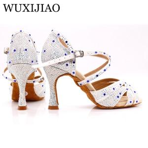 Image 5 - Женские кроссовки WUXIJIAO для джаза, сальсы, латинских танцев