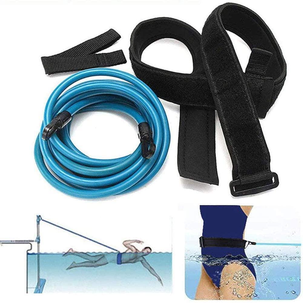 Bandas de treinamento de natação ajustável bandas