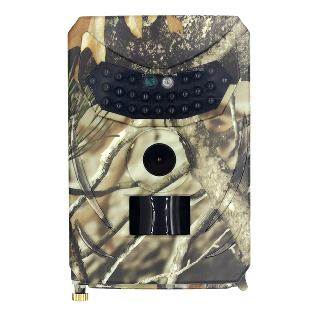 Trail Camera-IP56 Waterproof 12MP 1080P Hunting Scouting Cam for Wildlife Monitoring with Detecting Range Motion