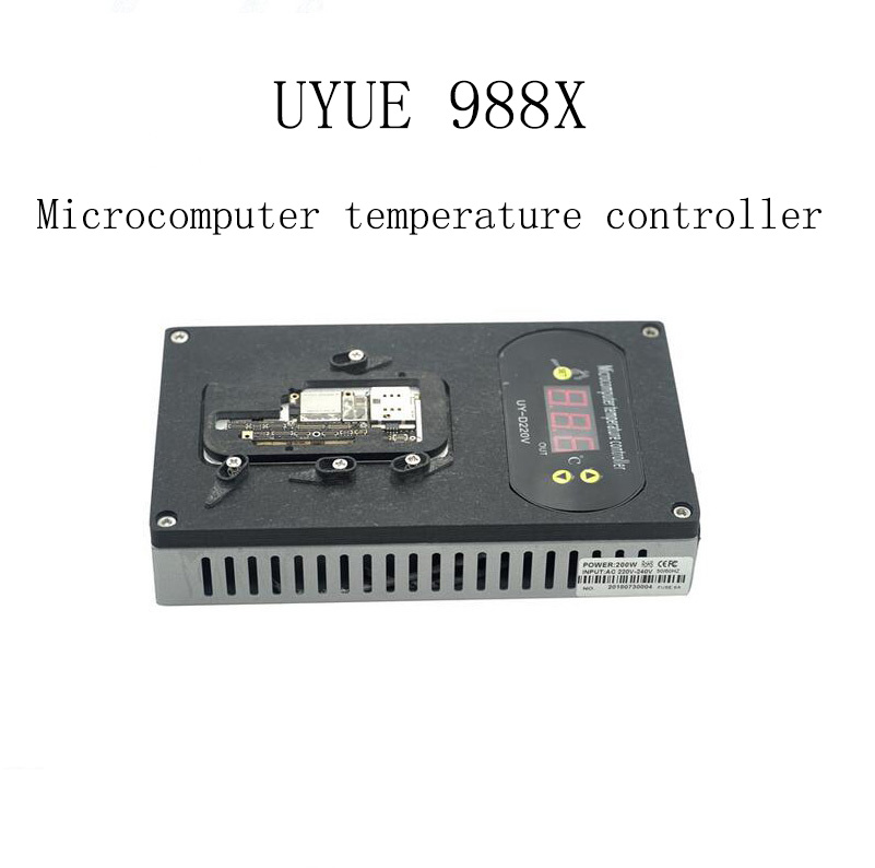 UYUE 988X Desoldering Heating Constant Temperature Rework Station Platform for iPhone X Motherboard CPU