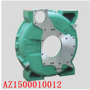 for Heavy truck HOWO Sinotruk Howo A7 engine parts WD615 flywheel shell AZ1500010012