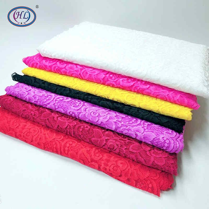 HL 1 Yard 30CM Wide Stretch Lace DIY Clothing Spandex Lace Underwear Wedding Dress Crafts Sewing Accessories HB008