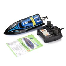 High Speed RC Boat 2.4GHz 4 Channel Racing Remote Control Boat with LCD Screen as gift For children Toys Kids Gift