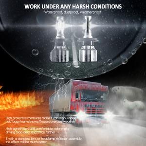 Image 2 - CNSUNNYLIGHT 24V משאית LED פנס נורות H4 Hi/Lo H7 H11 H1 סופר בהיר 8500LM 880 H3 9005 9006 להחליף משאית Camion אורות