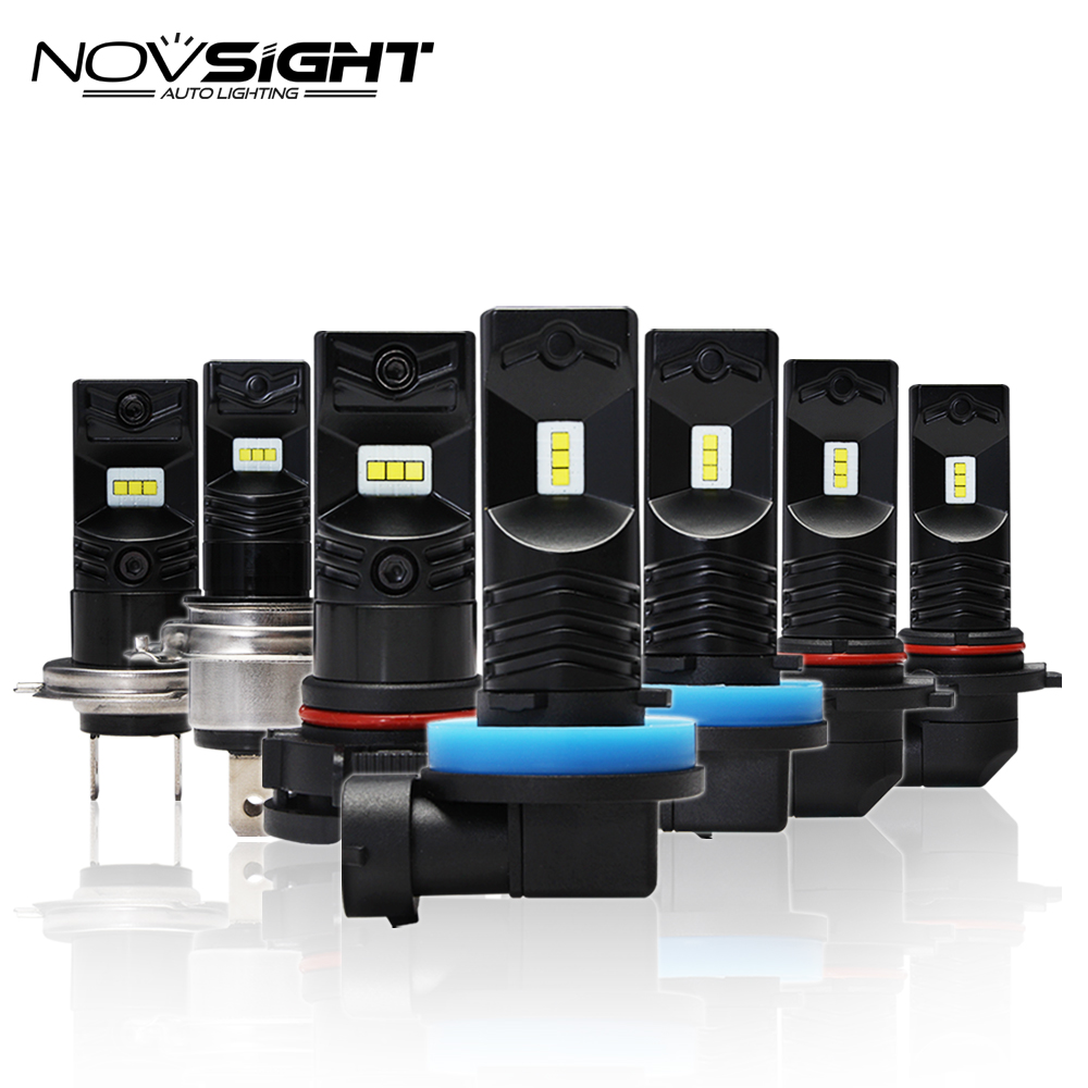NIGHTEYE Car LED Fog Light Bulbs 1600LM 6500K White Lights H1 H3 H7 H11 9005/HB3 9006/HB4 Auto Driving Led Chip
