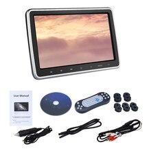 Медиа заднего сиденья подголовник автомобиля развлечения цифровой экран планшет Стиль монитор 10,1 дюймов аксессуары DVD плеер Plug And Play