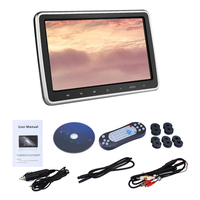Media Rear Seat Car Headrest Entertainment Digital Screen Tablet Style Monitor 10.1 Inch Accessories DVD Player Plug And Play