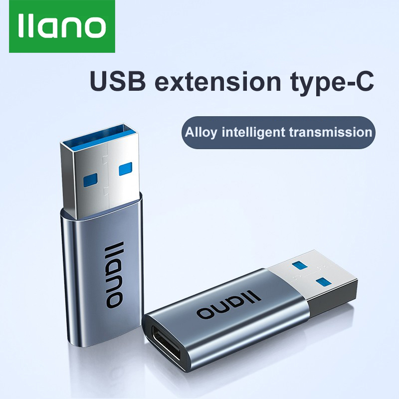 LLANO USB3.0 To Type-c Converter For Redmi Charger High-speed Data Transmission Type-c To USB OTG Adapter For USB Mouse Keyboard