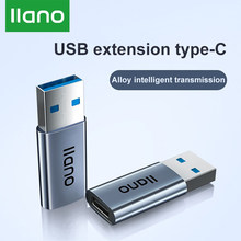 LLANO USB3.0 To Type-c Converter For Redmi Charger High-speed Data Transmission Type-c To USB3.0 Adapter For USB Mouse Keyboard