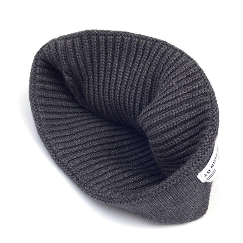Купить новинка классическая вязаная шапка с краями черепа осень зима