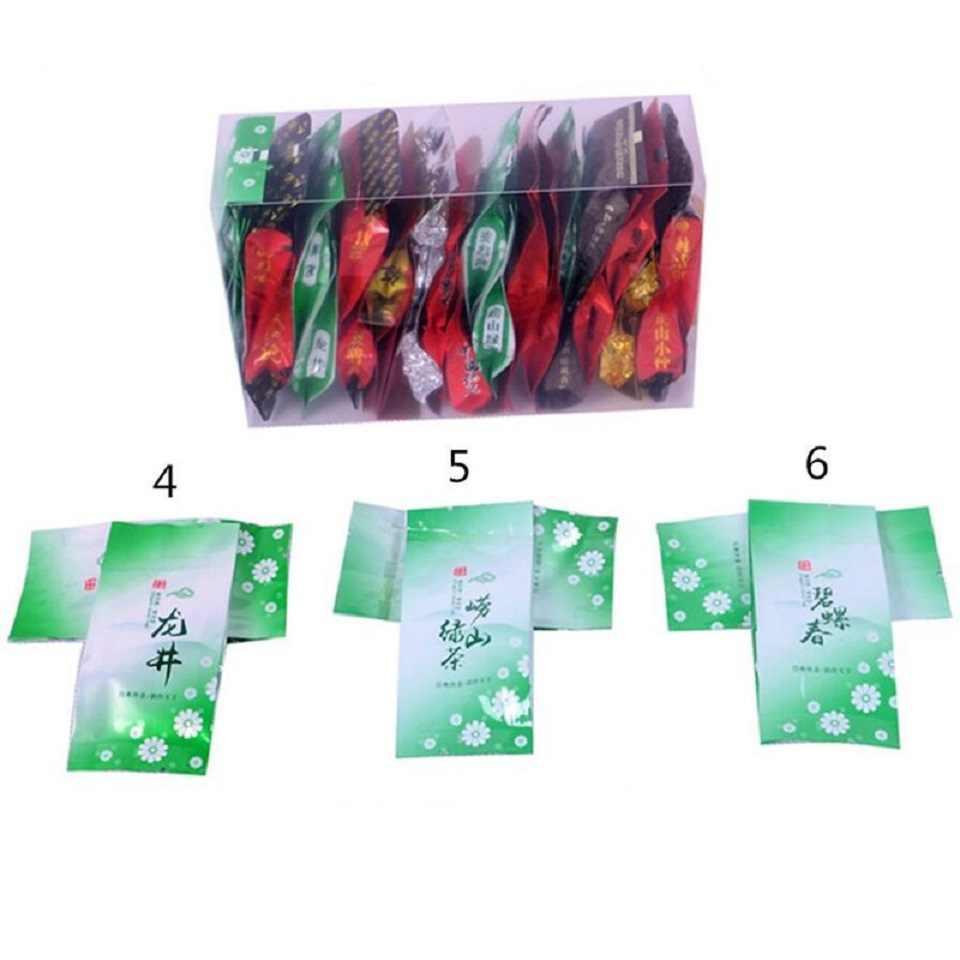15 Different Tea Including Oolong Pu-erh Black Green Herbal Flower Tea Gift 150g Chinese Premium Quality Tea