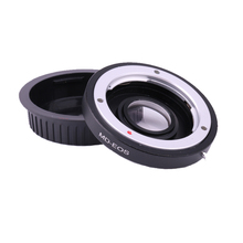 Obiettivo Monte Anello Adattatore per Minolta MD Lens per Adattarsi per Canon EOS EF Camera Messa A Fuoco Allinfinito Adattatori per Obiettivi Fotografici Anello con lente correttiva