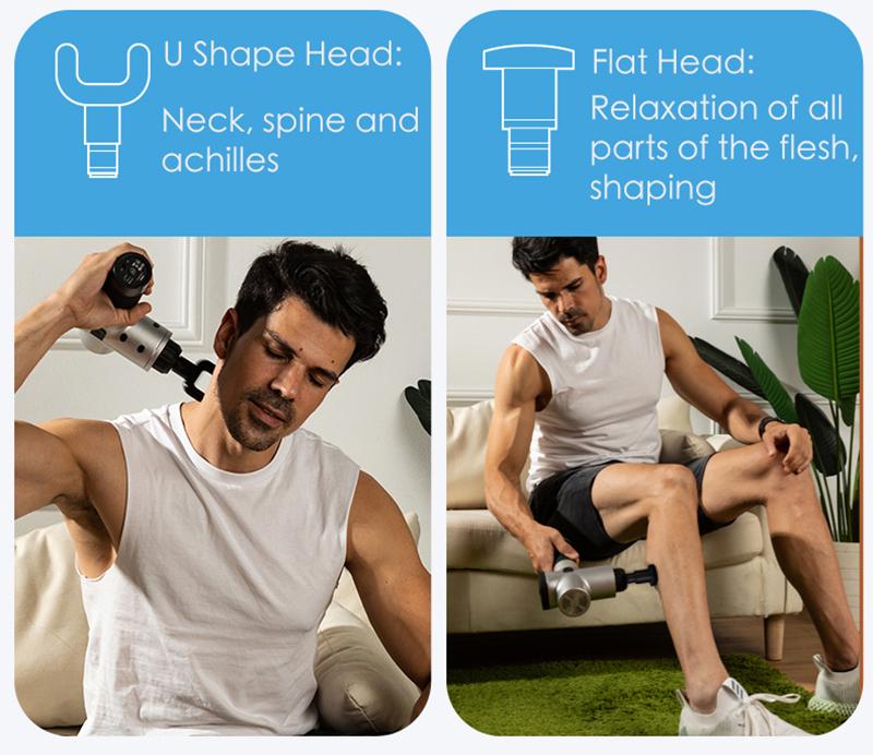 EMS Professional Deep Tissue Muscle Massage Gun 6
