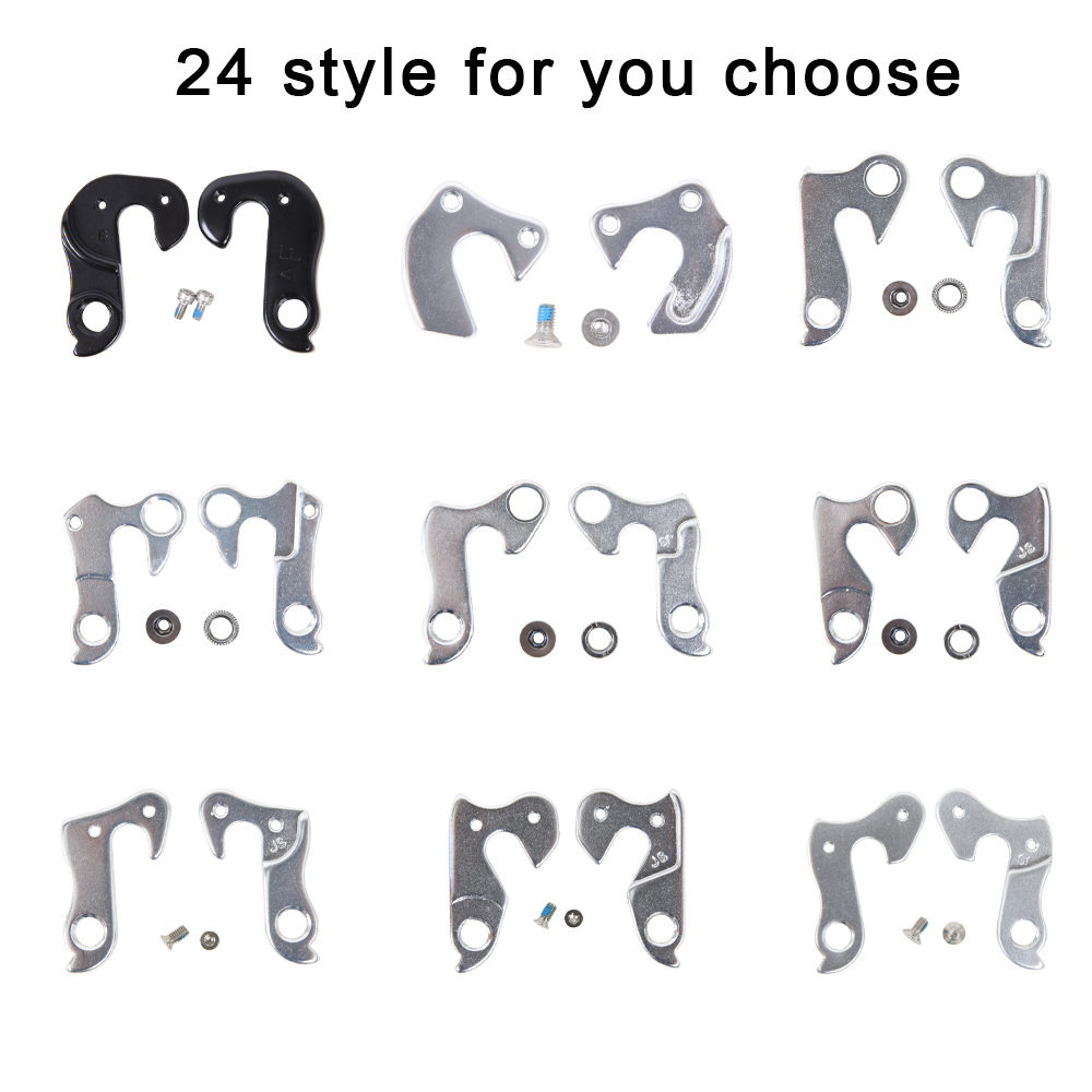 Universal MTB Road Bicycle Alloy Rear Derailleur Hanger Frame Gear Tail Parts