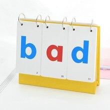 69 시트/세트 영어 phonics 루트 발음 규칙 카드 어린이 영어 학습 영어 영어 학습 영어 단어 카드