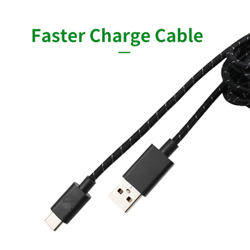 3M Length Type-C Charge Cable for Microsoft  Xbox One Elite Series 2 Controller support  Switch PRO Controlier Charge cable 2