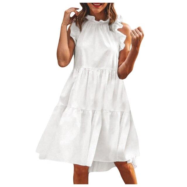 Sleeveless Women Maternity Dress for Wedding 4