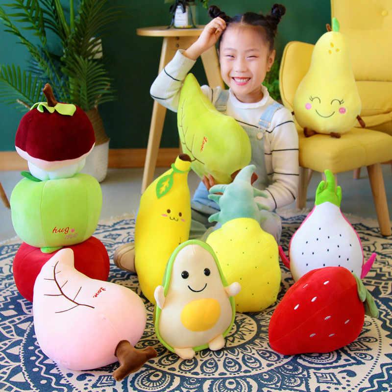 Avokado peluş karikatür hayvan oyuncak bebek çocuk hediye dolması simülasyon peluş yumuşak bebek çocuk oyuncak anime kaliteli çocuk meyve bitkileri