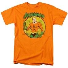 Camiseta AQUAMAN con peces voladores Estilo Vintage todas las tallas (1)