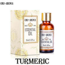 Famous brand oroaroma natural Turmeric essential oil body wa