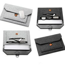 цена на Laptop Case Sleeve Felt Bag For Macbook Air Pro 11 12 13 14 15 16 inch Notebook Computer bag for HP Xiaomi Dell Lenovo Mac book