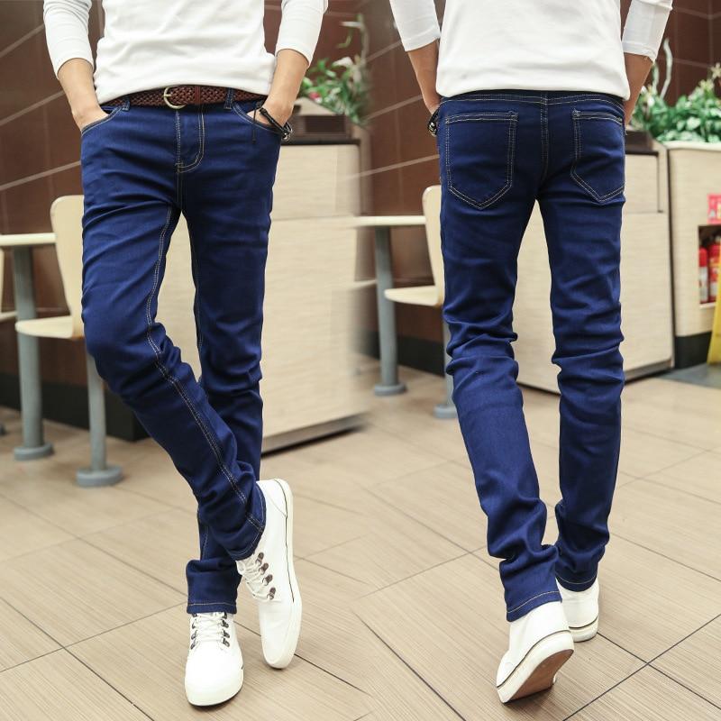 MEN'S Jeans Men's Skinny Pants Men'S Wear Korean-style Slim Fit Men's Trousers MEN'S Pants Show Skinny Long Pants Autumn Student