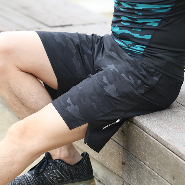 FANNAI Running Shorts Men Crossfit Shorts Quick Dry Men Fitness Shorts Gym Shorts Men Sport Shorts