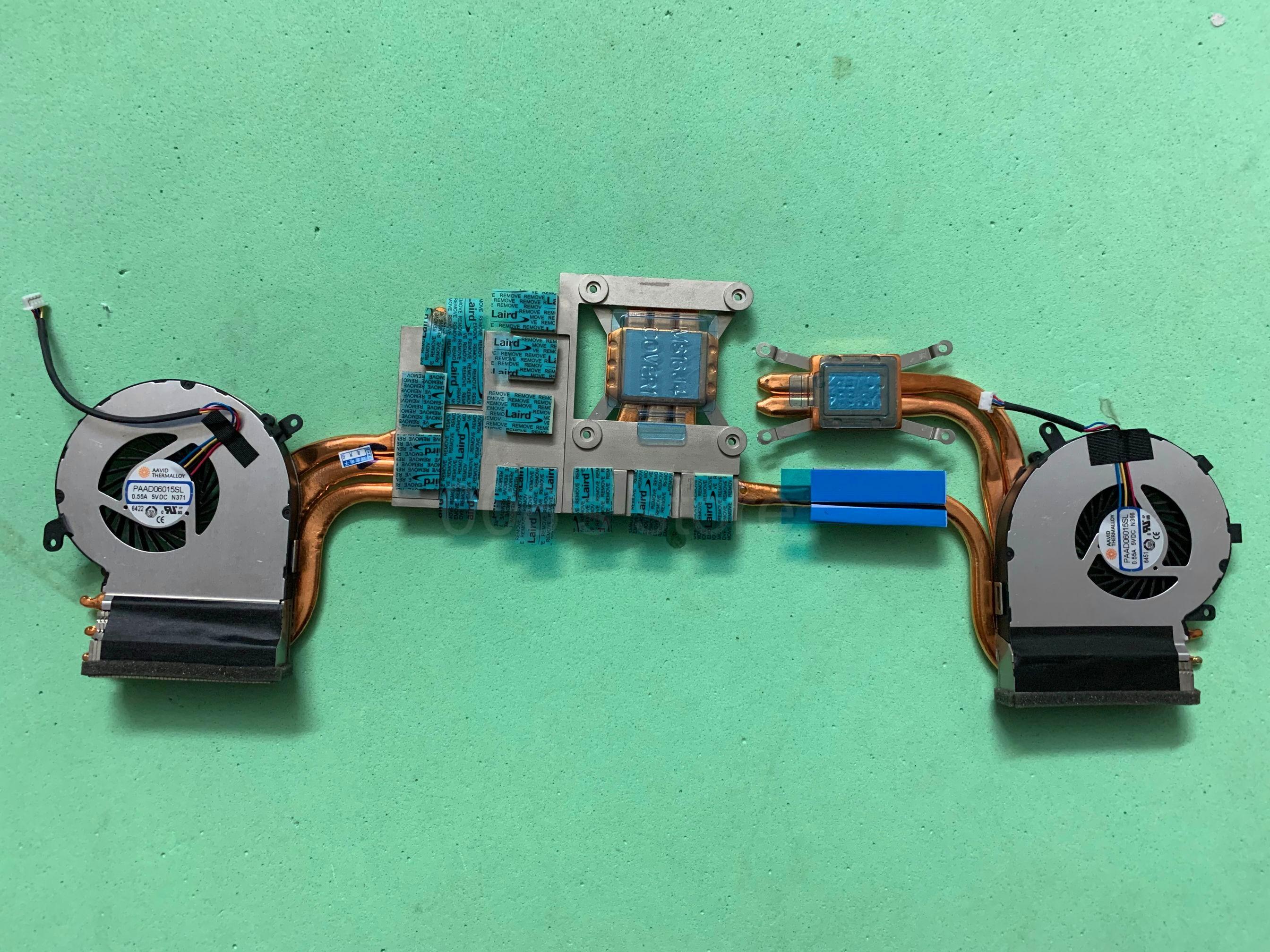 New Cooler Fan/Heatsink For MSI GE62VR GP62MVR MS-16J9 MS-16JB MS-16J1 MS-16J2 MS-16J5 MS-16J8 PAAD06015SL N366 N371 Radiator