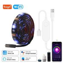 5v usb led strip 5050 rgb led strip luz 5050 tira de música bluetooth ip65 tira flexível led fita tv fundo iluminação