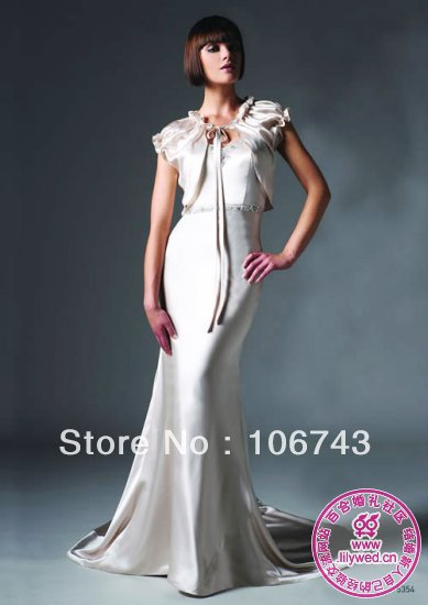 New Fashion Long Design Vestidos Formal Sexy Beaded Elegant Party Custom Color Evening With Jacket Mother Of The Bride Dresses