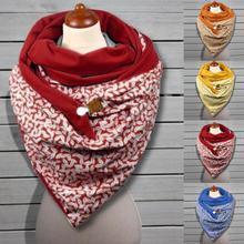 Женский зимний шарф coulard femme вязаный мужской теплый на