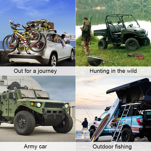 Image 3 - 四季防水狩猟屋外釣りユニバーサルカーシート用カバージープ動物簡単逆アセンブルクリーニング旅行