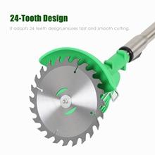 """Газонокосилка 6 """"150 мм 24 зубья, циркулярная металлическая пила, круглая пила, резак, электрический свадебный аксессуар для сада, сельского хо..."""