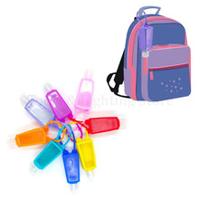 Empty-Keychain-Carrier Container-Bottles Silicone Refillable 30ml 5pcs