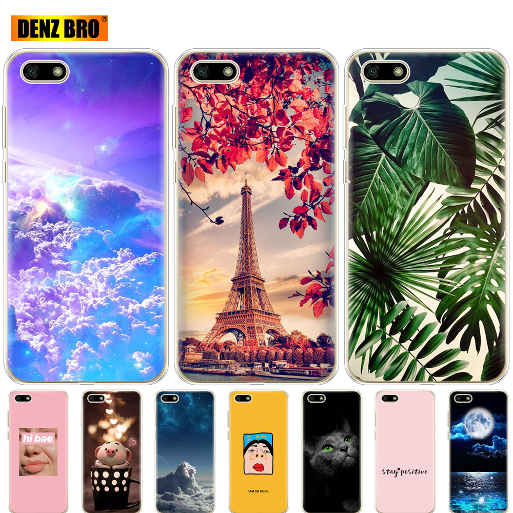 For <font><b>Honor</b></font> <font><b>7S</b></font>/ 7A/7A Prime 5.45 inch <font><b>Case</b></font> <font><b>Silicon</b></font> Soft TPU Back Phone <font><b>Case</b></font> Cover for Huawei <font><b>Honor</b></font> 7A <font><b>7S</b></font> DUA L22 Bag Bumper image