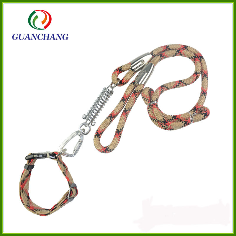 Medium Large Dog Dog Hand Holding Rope Dog Chain Pet Supplies Proof Punch Dog Traction Belt