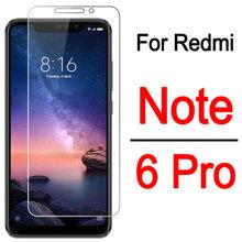 2 шт. Защитное стекло для Xiaomi redmi note6 pro Note 6 Pro безопасности Защита для экрана xiomi RedmiNote6 pro Чехол для телефона из закаленного стекла