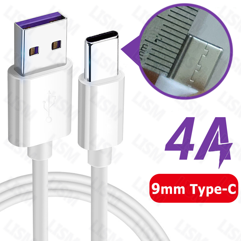 9mm Long USB Type C Connector Quick Fast Charging Cable USB-C Charger For Oukitel WP2 Blackview BV9800 Pro Leagoo X-Rover AGM A9(China)