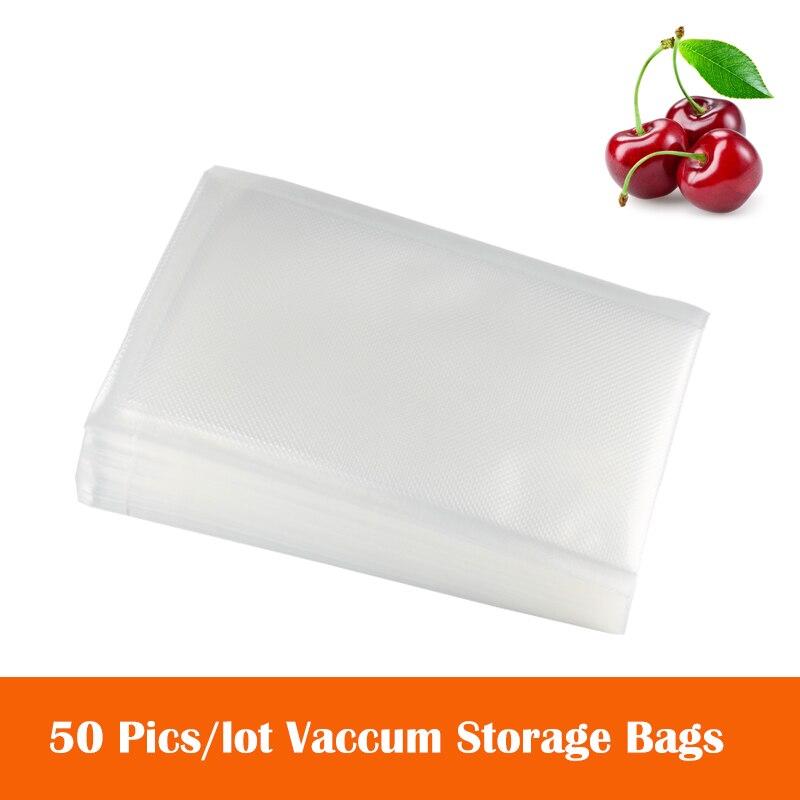 AGASHE 50PCS/lot Vacuum Sealer Package Bag For Vacuum Sealing Machine For Food Saving Storage Bag Kitchen Food Keep Fresh