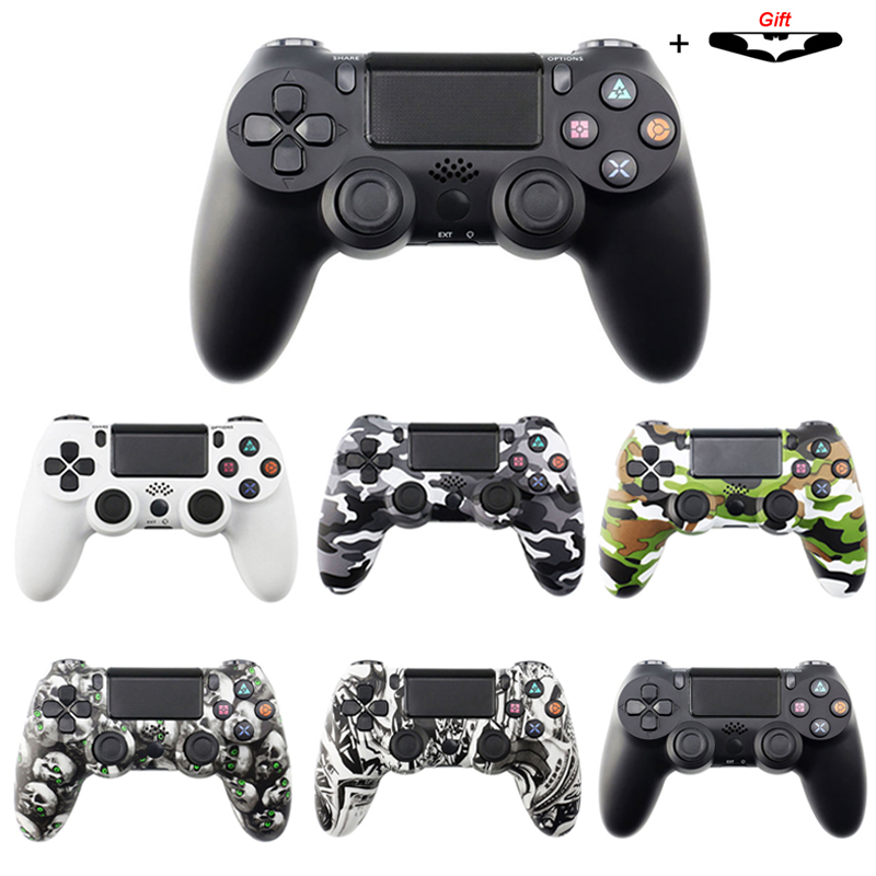 Bluetooth Wireless/Wired Joystick for PS4 Controller Fit For mando ps4 Console For Playstation Dualshock 4 Gamepad For PS3(China)