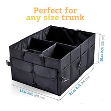 Big Capacity Car Storage Box Car Trunk Organizer Eco-Friendly Super Durable Collapsible Cargo Storage Tool Auto Trucks Trunk Box