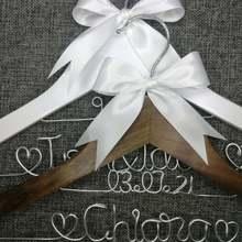 Персонализированные Свадебные вешалки подарки подружки невесты