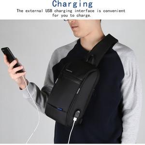 Image 4 - 10% Offร้อนขายKingsons 10.1นิ้วกระเป๋าเป้สะพายหลังสำหรับชายCasual Crossbodyกระเป๋าLeisureเดินทางไหล่กระเป๋าเป้สะพายหลัง