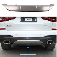 Stainless Steel Rear Bumper Shield for BMW X3 G01 2017 2018 2019 M Performance Styling Accessories|Chromium Styling| |  -