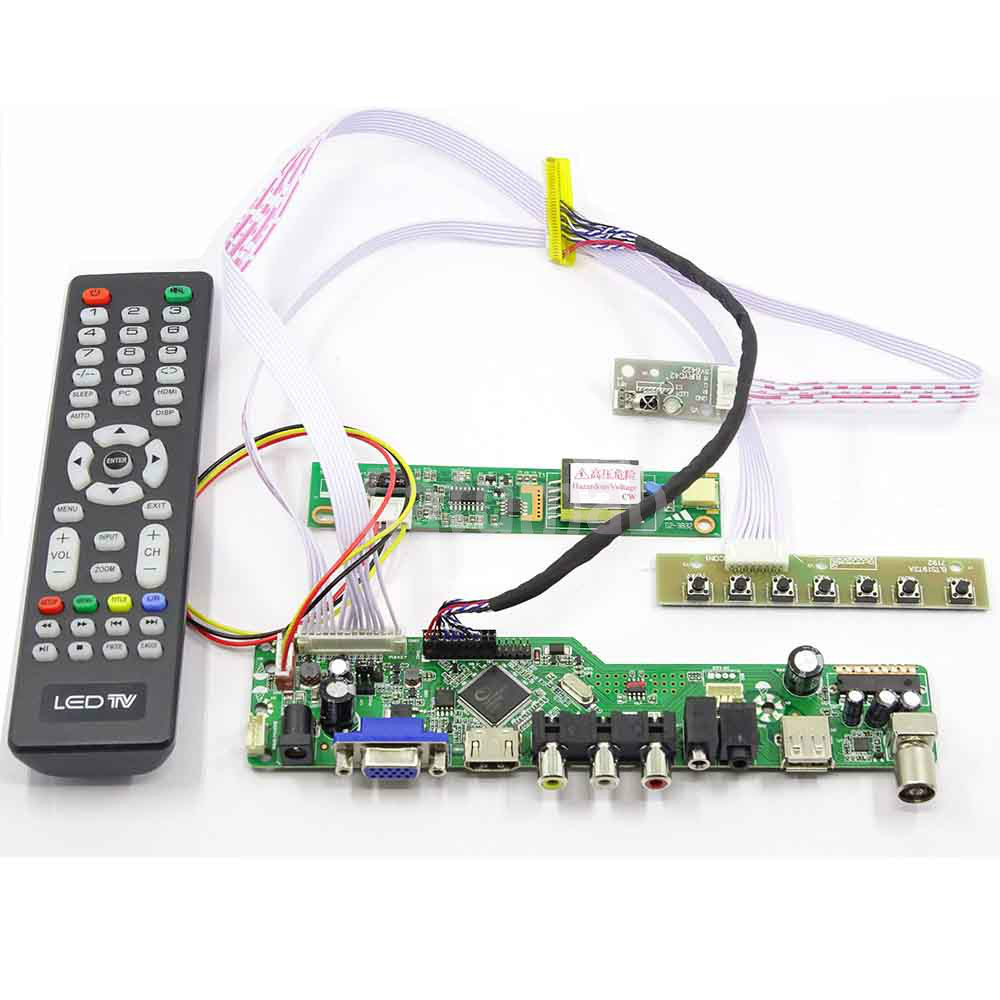 Latumab HDMI LCD Controller Board Work For 17inch 1440x900 B170PW03/ LTN170WX /LP171WP4/ LP171WX2 LCD Screen