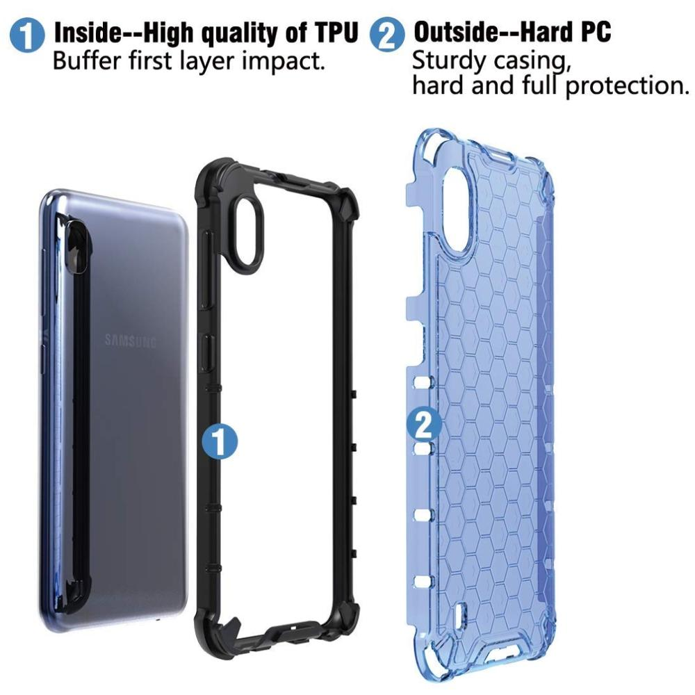 Case for Samsung Galaxy A71 A51 A50 A70 A30 A20s A10s Cover Honeycomb Silicone Case For Samsung S20 Ultra Note 10 S10 Plus Lite